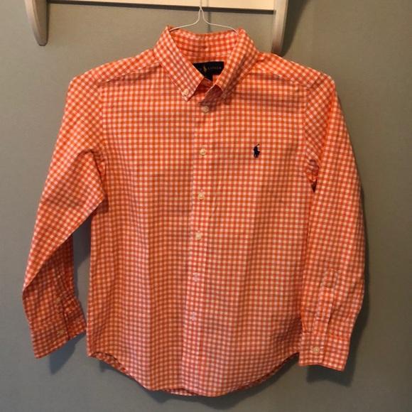 Ralph Lauren Other - Boys Ralph Lauren dress shirt - Size M 10-12